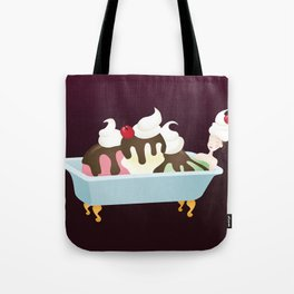 Sundae Bath Tote Bag