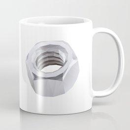Metal Nut Polygon Art Coffee Mug