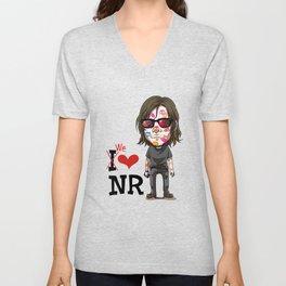 We love Norman! Unisex V-Neck