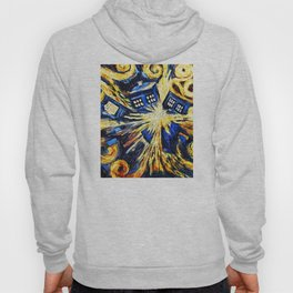 Tardis By Van Gogh - Doctor Who Hoody