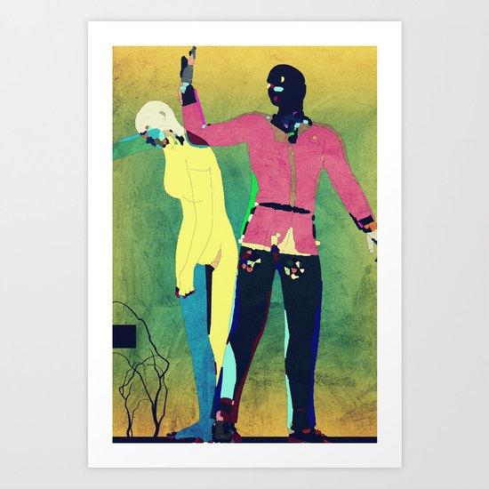 Banishment From Eden Art Print