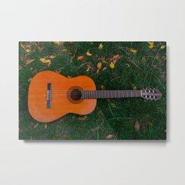Music of autumn Metal Print