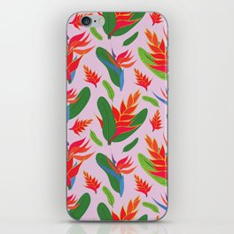 Heliconia iPhone Skin