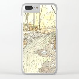 Eno River #3 Clear iPhone Case
