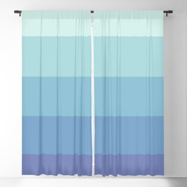 Waterfalls Stripe Blackout Curtain