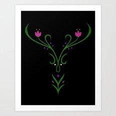Anna Winter Embroidery Art Print