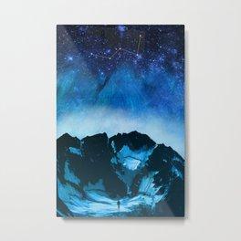 Cassiopeia Night Metal Print