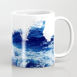Blue sea water #society6 Coffee Mug