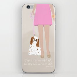 City Dogs: Elizabeth iPhone Skin