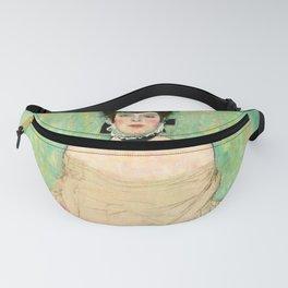 "Gustav Klimt ""Portait of Amalie Zuckerkandl"" Fanny Pack"