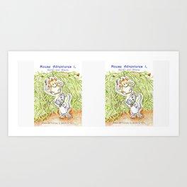 Mouse Adventures 1, Adolfo and Athena Art Print