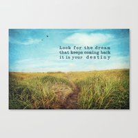 destiny Canvas Prints featuring destiny by Sylvia Cook Photography