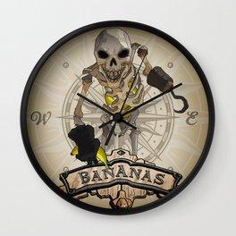 Sea Skelly Banana Thief Wall Clock