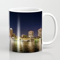 boston Mugs featuring Boston by Bust it Away Photography