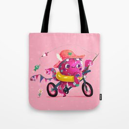 Summer Tako Tote Bag