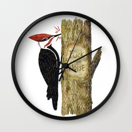 Fuck this Noise Wall Clock