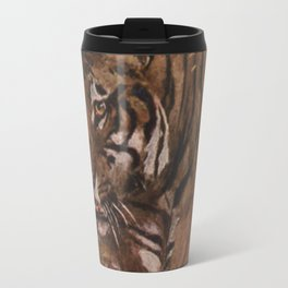 Vintage Tiger Painting (1909) Travel Mug
