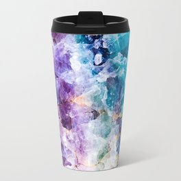 Multicolor quartz texture Travel Mug