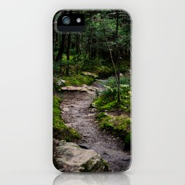 Winding Forest Trail iPhone Case