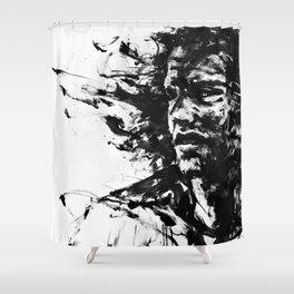 The Burden Shower Curtain