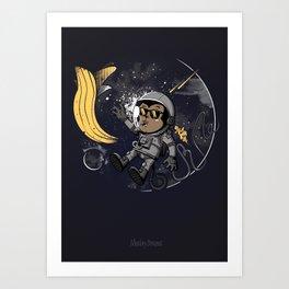 Monkey Dreams Art Print