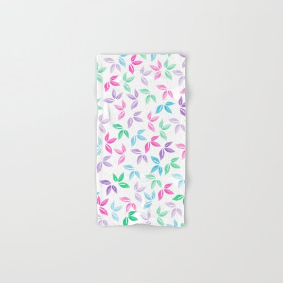 Flower Pattern VII Hand & Bath Towel