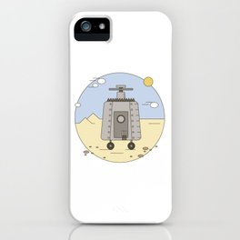 Pepelats. Russian science fiction. iPhone Case