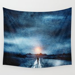 it's raining again Wall Tapestry
