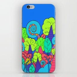 The Wacky Forest iPhone Skin