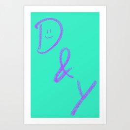 d&y Art Print