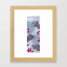 The Great Blue Coral Reef Framed Art Print