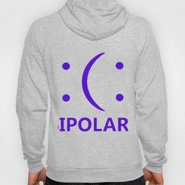 Bipolar Funny Emoticon Humor Tee Geek Nerd Crazy Internet College Math T-Shirts Hoody