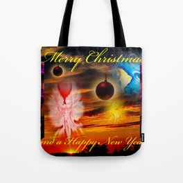 Merry Christmas and a Happy New Year Tote Bag