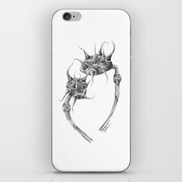 Spiked Nebula Pods (part of the Strange Plants series) iPhone Skin