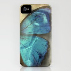 Lady Butterfly  Slim Case iPhone (4, 4s)