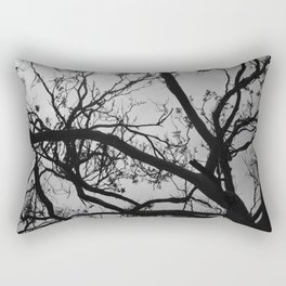 bald tree #1 Rectangular Pillow