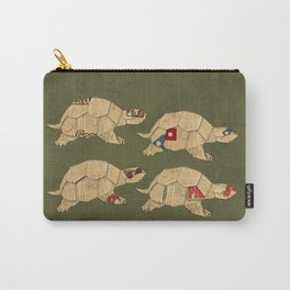Heroes in a pizza box... Turtle Power! Carry-All Pouch