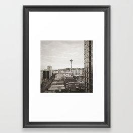 Space Needle Seattle Framed Art Print