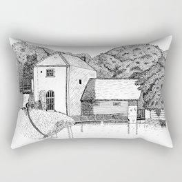 Claverton Pumping Station Rectangular Pillow
