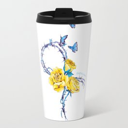 Ribbon | Endometriosis awareness Travel Mug