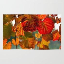 Autumn leaves 1 Rug