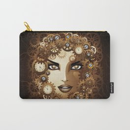 Steampunk Girl Portrait  Carry-All Pouch
