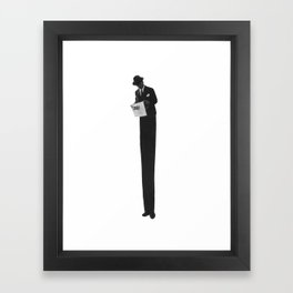 Grown Up Framed Art Print