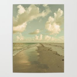 Clouds and Sea Poster