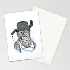 Russian Chewbacca Stationery Cards