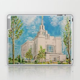 Kyiv Ukraine LDS Temple Laptop & iPad Skin