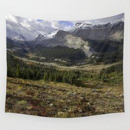Rocky Mountain Jasper Wall Tapestry