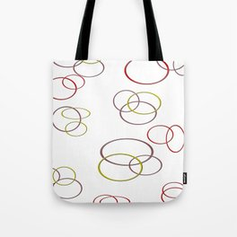 Circles of joy Tote Bag
