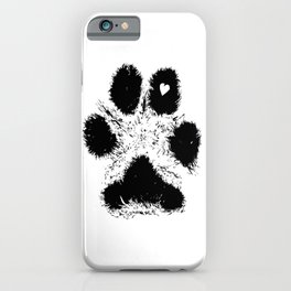 Paw Love iPhone Case