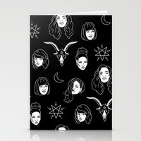 coven Stationery Cards featuring The Coven by Flash or Die!